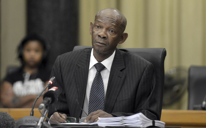 Advocate Silas Ramaite during the interviews for the National Director of Public Prosecutions (NDPP) position at the Union Building on 14 November 2018. Picture: Oupa Mokoena/African News Agency (ANA/Pool)