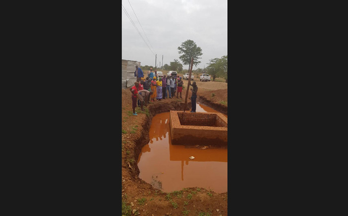 A six-year-old boy from Giyani in Limpopo has died after falling into a trench that was left open allegedly by a company that was handling the R3 billion bulk water project in the area. Picture: Mike Maringa