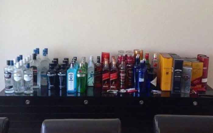 FILE: Some of the duty-free alcohol sold by Lesotho diplomats in South Africa. Picture: Supplied