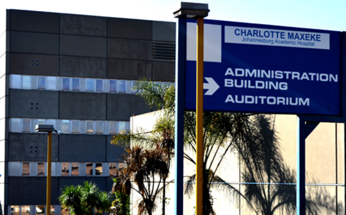 The Charlotte Maxeke Johannesburg Academic Hospital. Picture: Michelle Lubbe/EWN