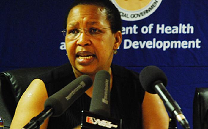 FILE: Gauteng Health MEC Qedani Mahlangu. Picture: EWN.