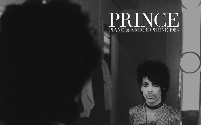 'Piano & Microphone' 1983 cover album. Picture: Facebook/prince/