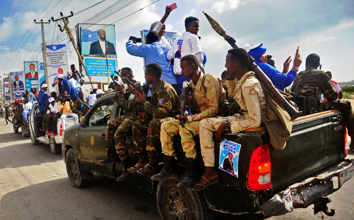 FILE: Security forces in Mogadishu, Somalia. Picture: AFP.