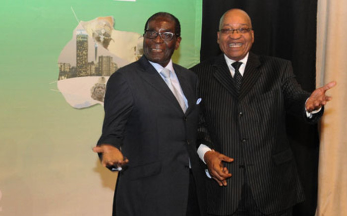 Zimbabwean President Robert Mugabe and President Jacob Zuma. Picture: GCIS.