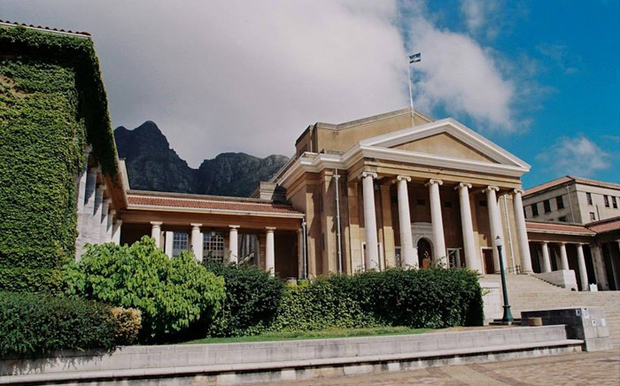 FILE: University of Cape Town. Picture: Facebook/Michael Currin.