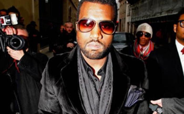 American rapper Kanye West. Picture: AFP