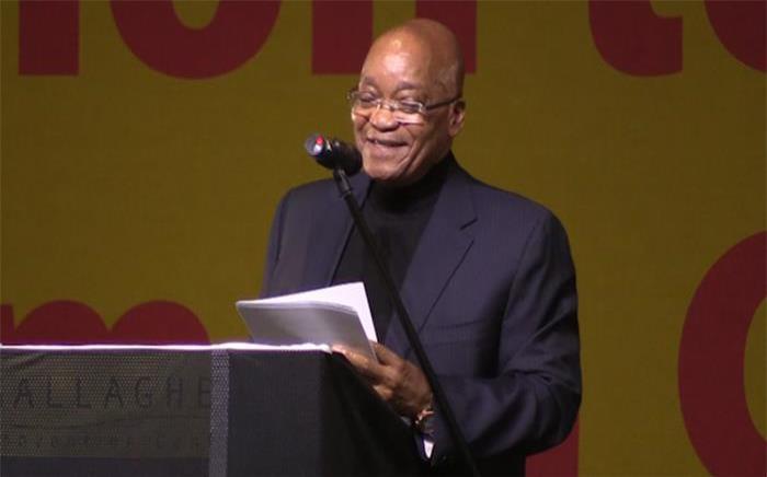 President Jacob Zuma. Picture: Kgothatso Mogale/EWN.