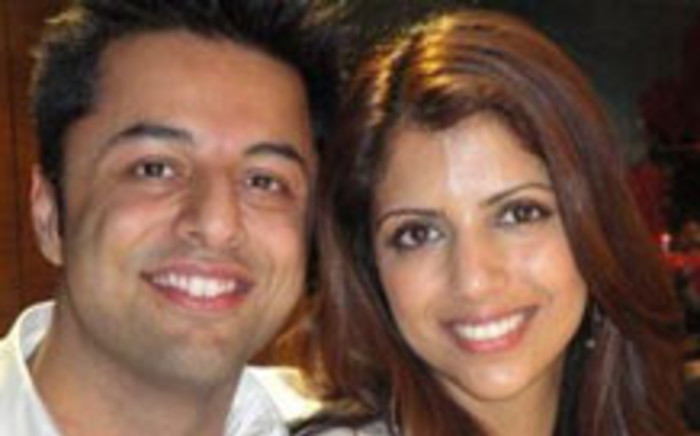 Shrien Dewani and his murdered wife Anni. Picture: AFP