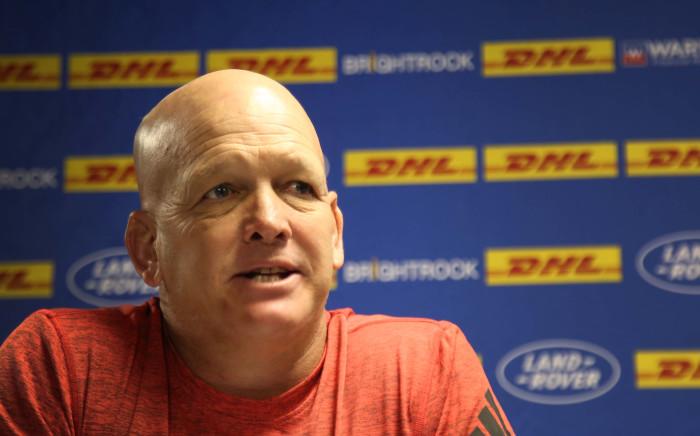 Western Province coach John Dobson addresses the media. Picture: Bertram Malgas/EWN