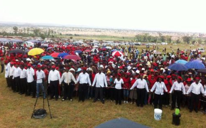 The EFF launched its election manifesto in Tembisa on Gauteng's East Rand on Saturday 22 February 2014. Picture: Lesego Ngobeni/EWN.