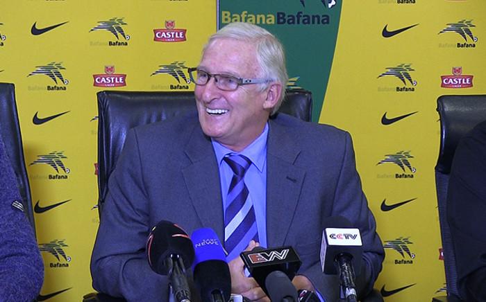 Outgoing Bafana Bafana coach Gordon Igesund.Picture: Reinart Toerien/EWN.