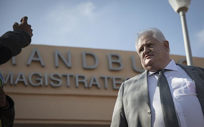 FILE: Angelo Agrizzi appears in the Randburg Magistrate Court on 27 June 2019. Picture: Sethembiso Zulu/EWN