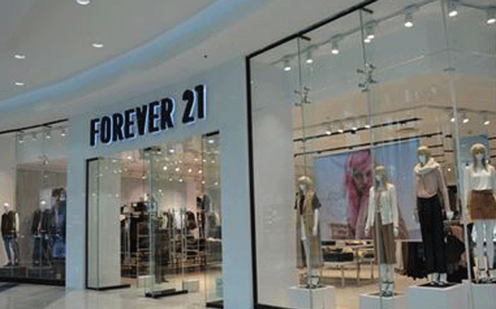 FILE: Forever 21 store at Mall of Africa in Midrand. Picture: mallofafrica.co.za