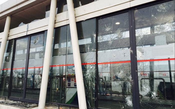 MyCiTi bus services have been suspended in Dunoon after two stations were vandalised in protests. Picture: Siyabonga Sesant/EWN.