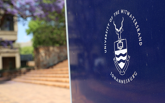 A signboard at the Univeristy of the Witwatersrand main campus. Picture: Reinart Toerien/EWN