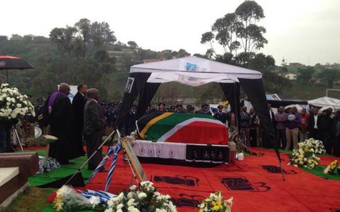 Senzo Meyiwa's final resting place. Picture: Vumani Mkhize/EWN