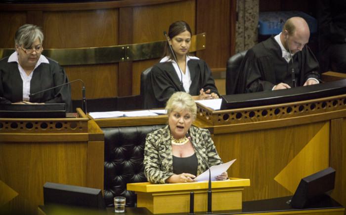 DA MP Dianne Kohler Barnard. Picture: Picture: Thomas Holder/EWN.