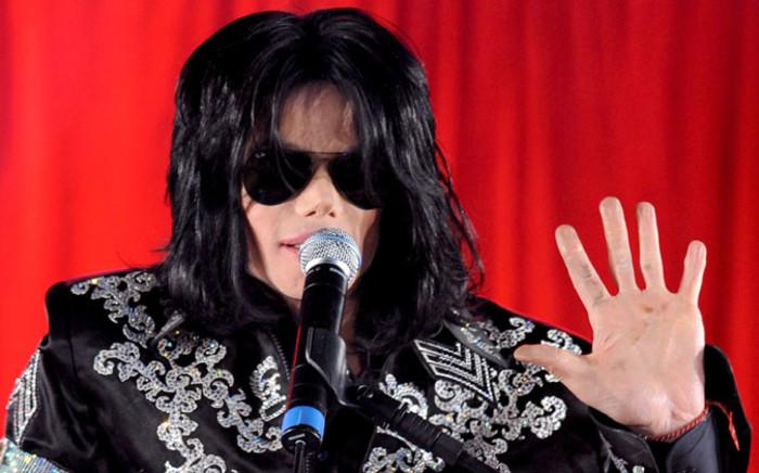 Late US singer Michael Jackson. Picture: EPA.
