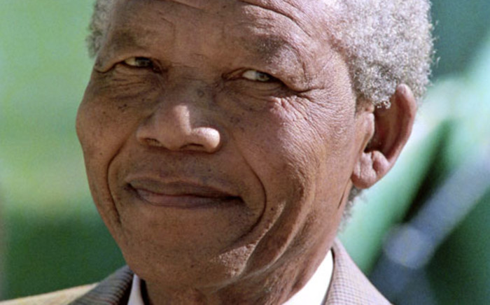 Nelson Mandela. Picture: AFP.
