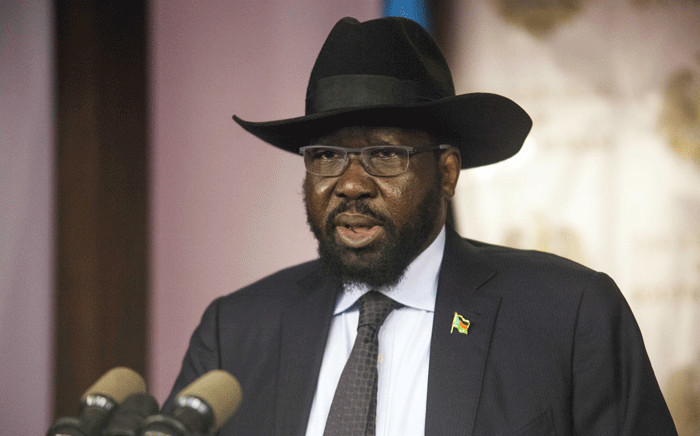 FILE: President of the Republic of South Sudan Salva Kiir. Picture: AFP.