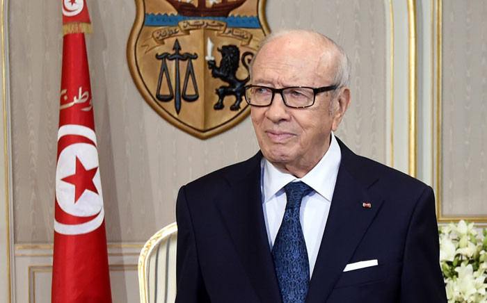 FILE: Tunisian President Beji Caid Essebsi. Picture: AFP.