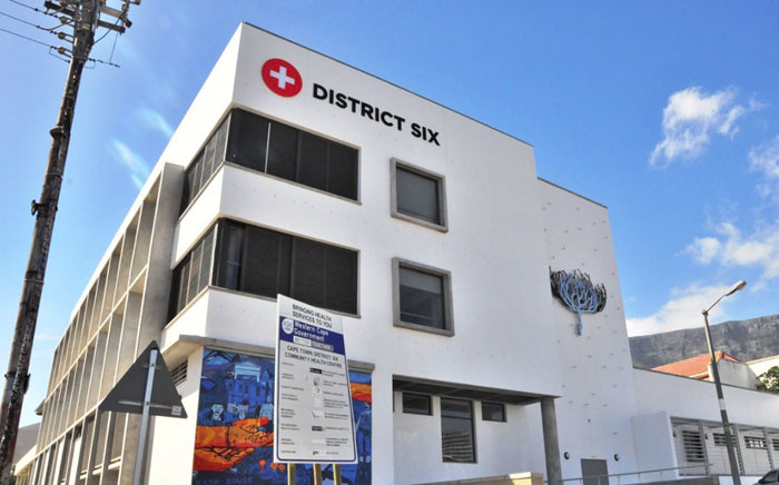 A view of the new District Six Community Health Centre in Cape Town. Picture: @WCGovTPW/Twitter.