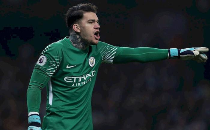 Manchester City goalkeeper Ederson Moraes. Picture: Facebook.