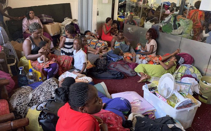 FILE: The foreign nationals, among them refugees, had been staging a sit-in at the Methodist Church in the Cape Town CBD and demanding they be helped to leave South Africa. Picture: Kaylynn Palm/Eyewitness News