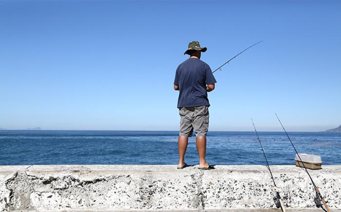 Summer fishing in Kalk Bay, Cape Town. Picture: Leah Rolando/Primedia