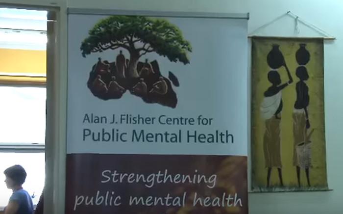Youtube screengrab of the Alan J Flisher Centre for Public Mental Health logo.