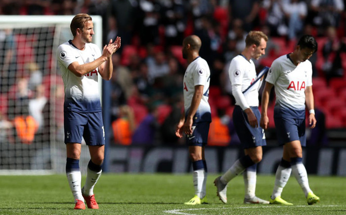 Tottenham Hotspur players react following their Premier League home loss to Liverpool. Picture: @Spurs_ID/Twitter.