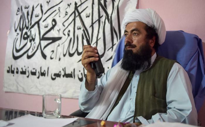 File image: Taliban commander, Mullah Misbahand. Picure: AFP.