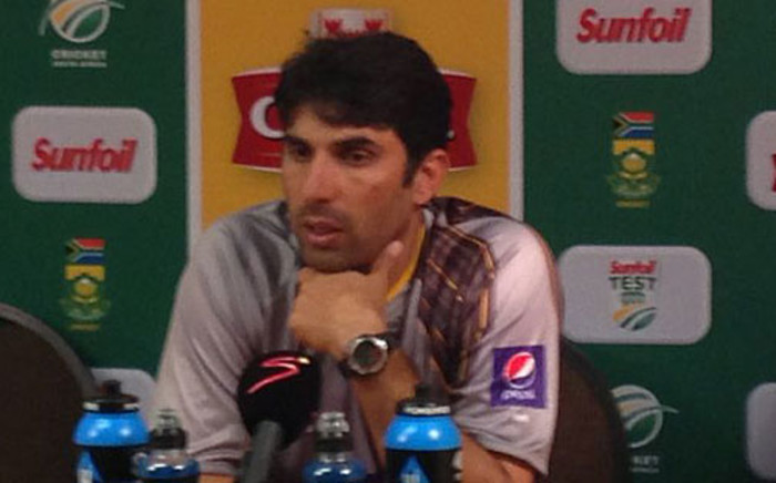 Pakistan cricket captain Misbah-ul-Haq in Cape Town on 12 February 2013. Picture: Alicia Pillay/EWN