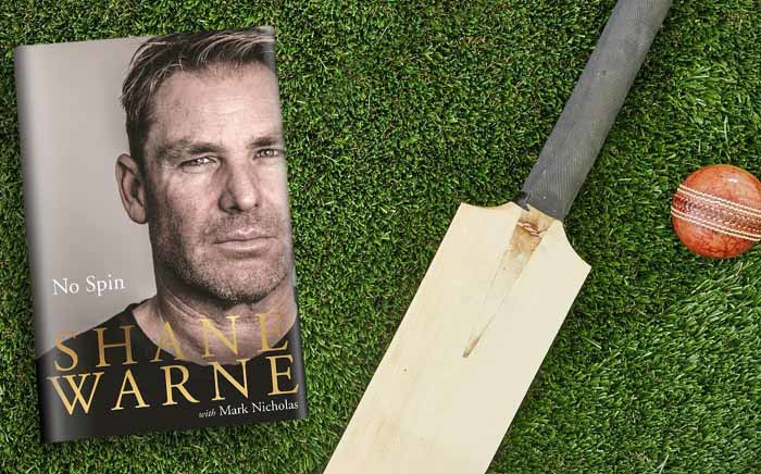 A cover of Australian cricket great Shane Warne's book 'No Spin'. Picture: @PenguinBooksAus/Twitter