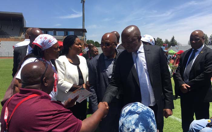 Deputy President David Mabuza is expected to give the keynote address at the official 2018 World Aids Day commemorations at Dobsonville Stadium in Soweto. Picture: Katleho Sekhotho/EWN