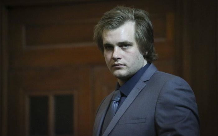 Triple murder accused Henri van Breda in the Western Cape High Court on 24 April, 2017. Picture: Cindy Archillies/EWN