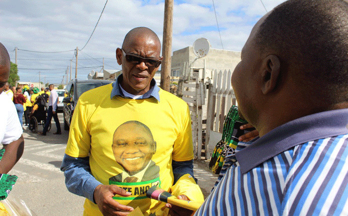 FILE: African National Congress secretary-general Ace Magashule campaigns in Hermanus on 24 April 2019. Picture: @MYANC/Twitter.