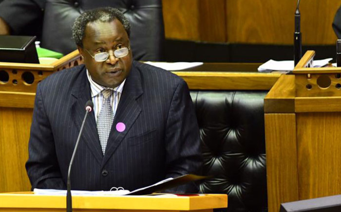 FILE: Finance Minister Tito Mboweni delivers his Medium-Term Budget Policy Speech in Parliament on 28 October 2020 in Cape Town. Picture: GCIS.