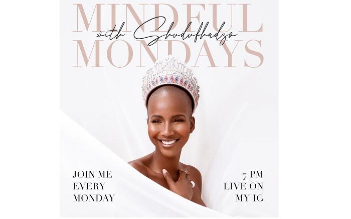 Sadag has partnered with Miss South Africa Shudufhadzo Musida to tackle the stigma surrounding mental health. Picture: Shudufhadzo Musida/Twitter.