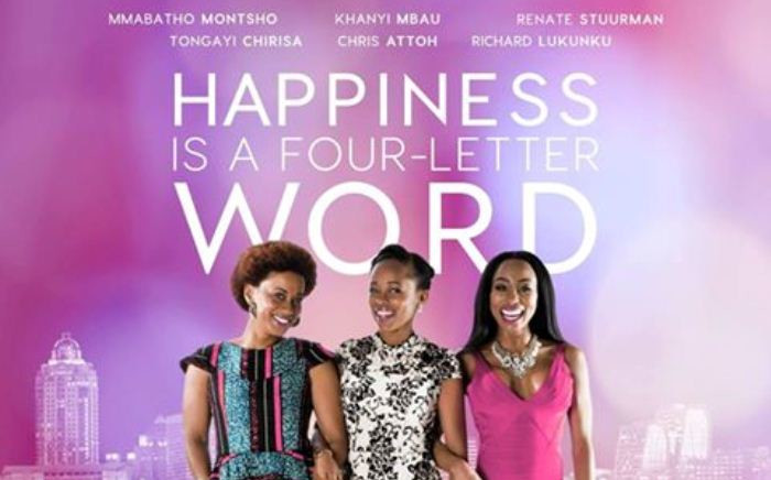 The official poster for the movie 'Happiness is a Four-Letter Word'. Picture: Facebook