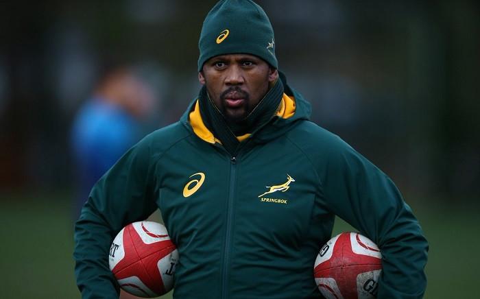 Springbok assistant coach Mzwandile Stick. Picture: @Springboks/Twitter