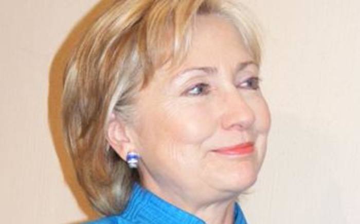 US Secretary of State Hillary Clinton in Durban on 8 August 2009. Picture: Narissa Subramoney/ Eyewitness News.