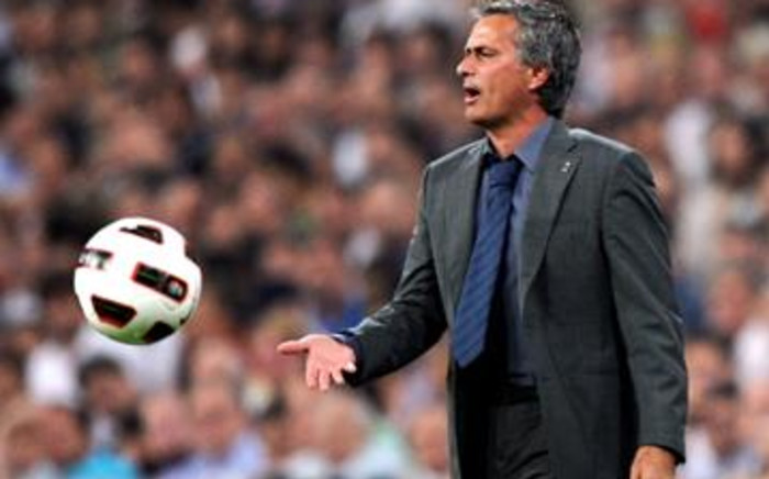 Real Madrid coach Jose Mourinho. Picture: AFP.