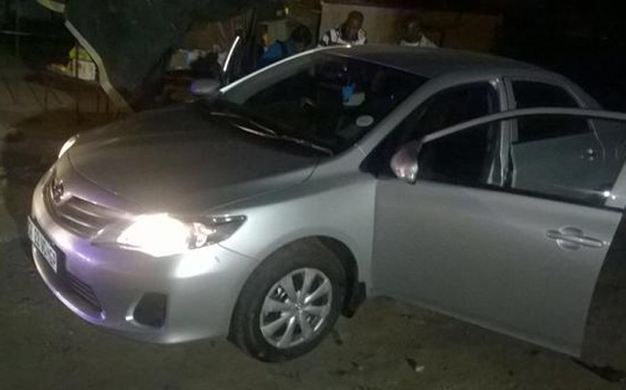 Joburg Flying Squad recovered a car that was stolen in Alexandra and wounded two suspects on 3 August 2015. Picture: SAPS.