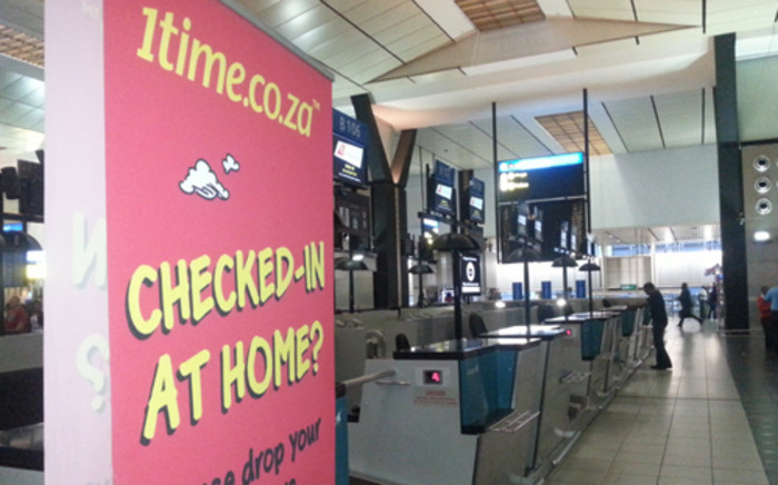 1Time Airline shut down its offices on 2 November, 2012. Picture: Sheldon Morais/EWN.