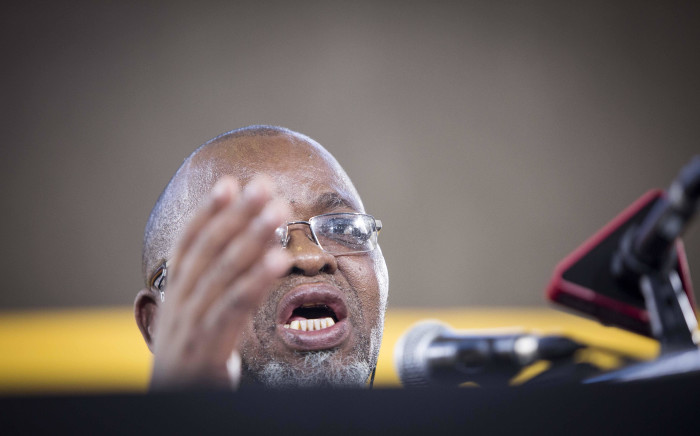 FILE: Gwede Mantashe pictured during a press briefing on 18 December 2017. Picture: Thomas Holder/EWN
