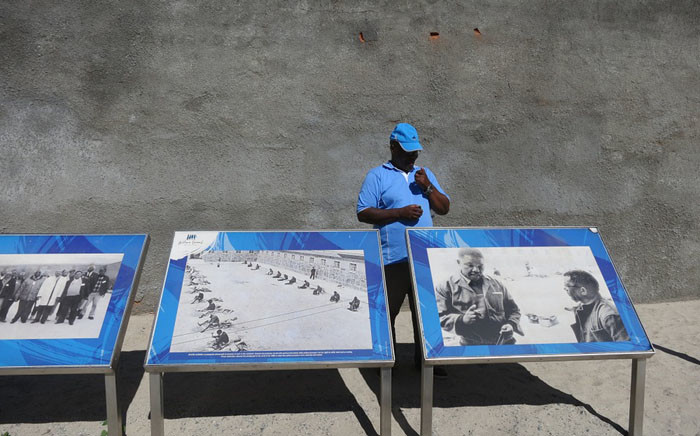A guide is seen on Robben Island in Cape Town. Picture: Pixabay.com.