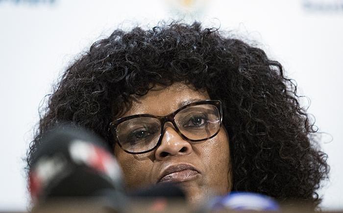 FILE: Western Cape police commissioner Yolisa Matakata. Picture: Sethembiso Zulu/ EWN