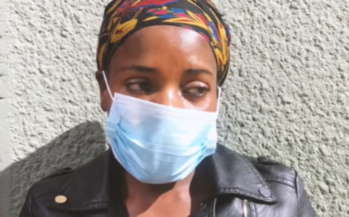 Nqobile Dube said that her daughter was ignored by nurses at the Helen Joseph Hospital and a doctor even told her that due to the number of COVID-19 patients the facility was under pressure. Picture: Screengrab