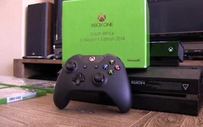 The new Xbox One. Picture: Reinart Toerien/EWN.